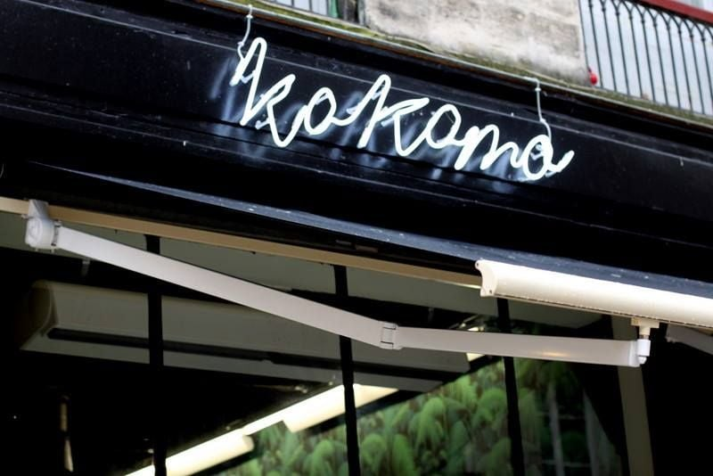 devanture du restaurant Kokomo à Bordeaux spécialisé dans la cuisine de Burgers